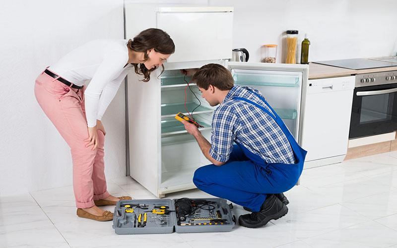 Tủ lạnh bị xì gas do hở mối hàn
