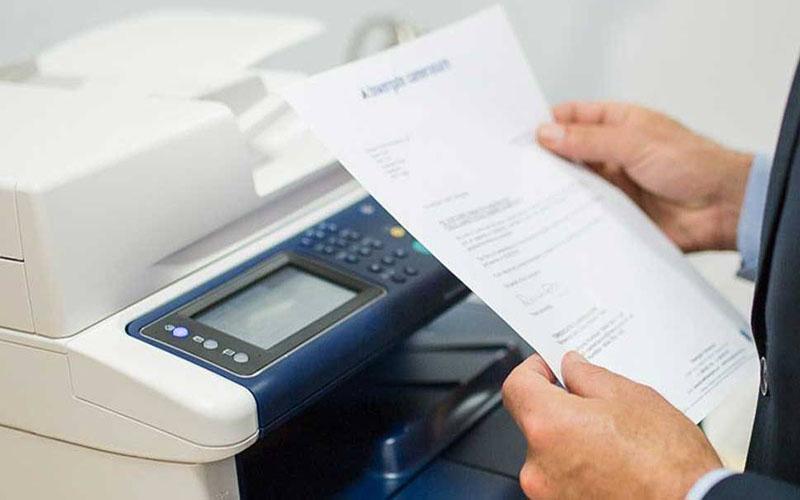 Kiểm tra tài liệu trước khi in