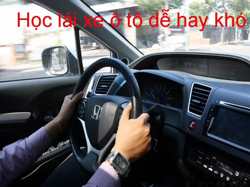 Hướng dẫn lái xe ô tô