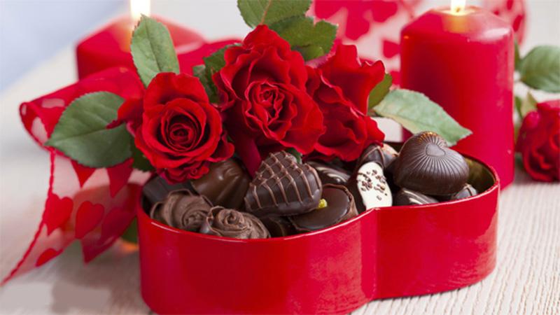 Tặng Chocolate Valentine cho bạn gái