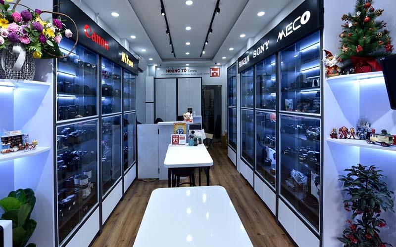 Giới thiệu cửa hàng mua bán máy ảnh - Máy ảnh Hoàng Tô