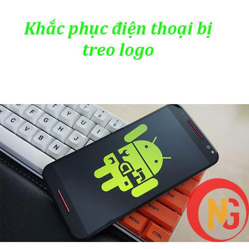 Khắc phục điện thoại treo logo