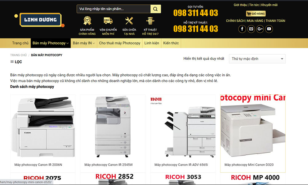 Lợi ích khi mua máy photocopy tại Linh Dương