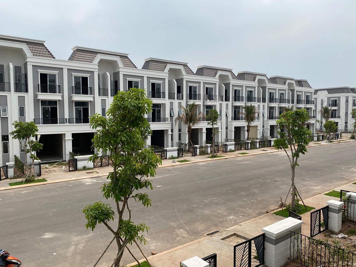 Nhà phố dự án Phúc An Ashita