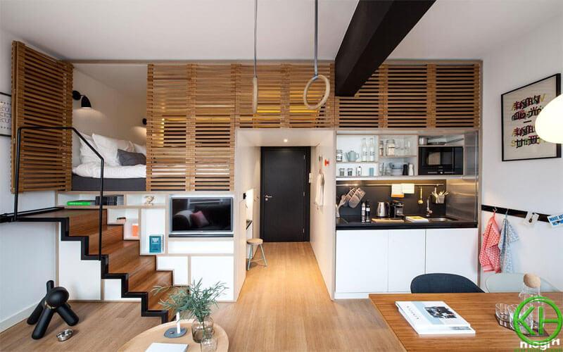 Căn hộ Apartment có diện tích rộng