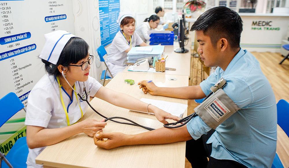 Lệ phí khám sức khỏe khác nhau ở mỗi trung tâm
