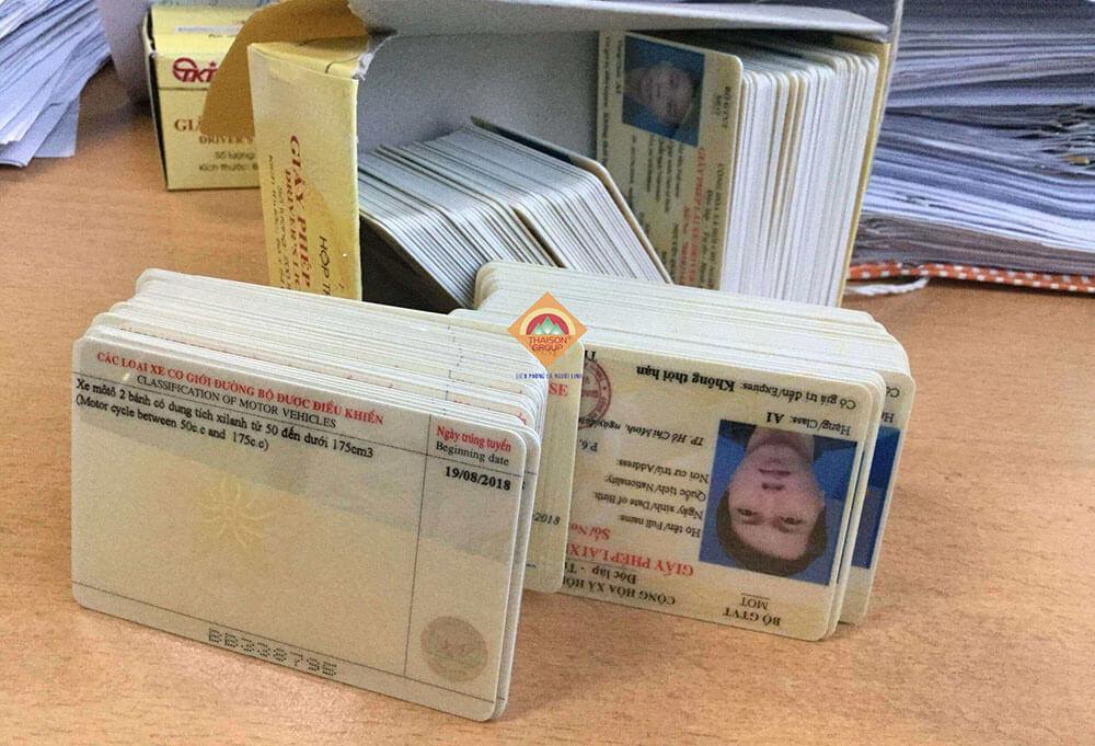 Nhận giấy phép lái xe sau 7-10 ngày