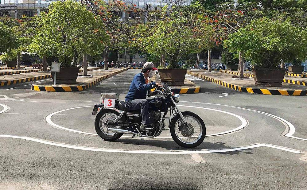 Quy trình đăng ký học và thi bằng lái xe máy
